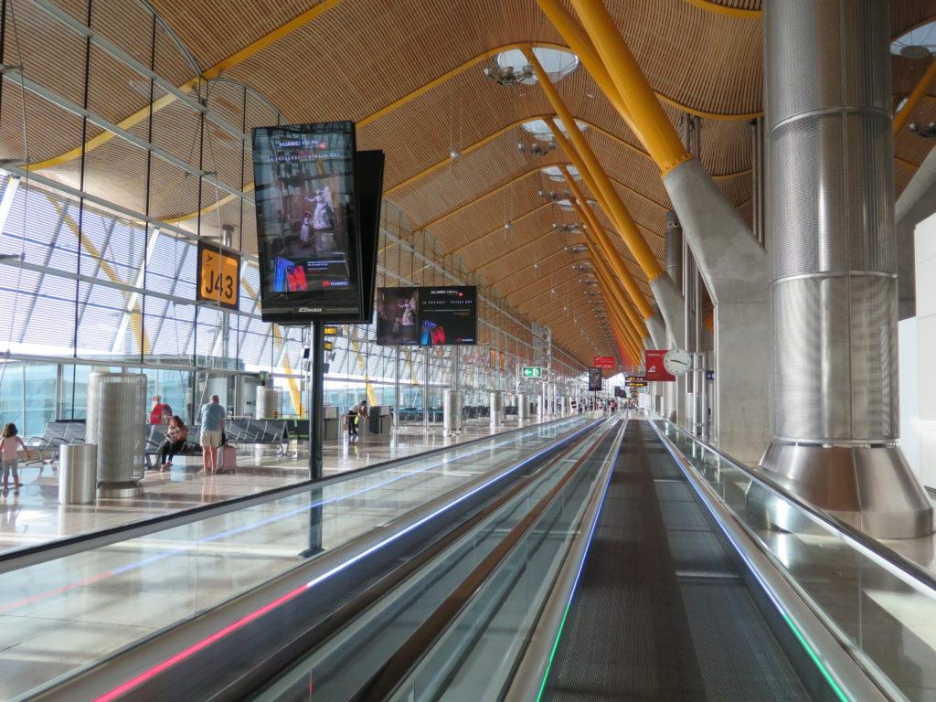 Pulbicidad aeropuerto Barajas