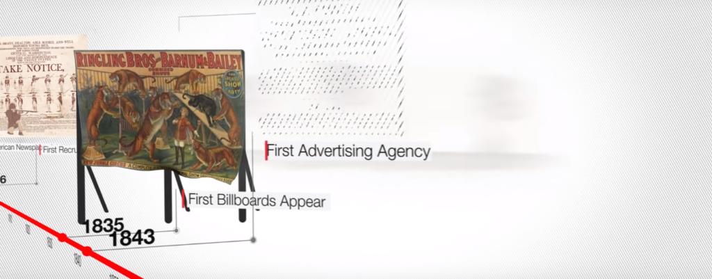 Evolución de la Publicidad. Desde las primeras vallas hasta la era digital