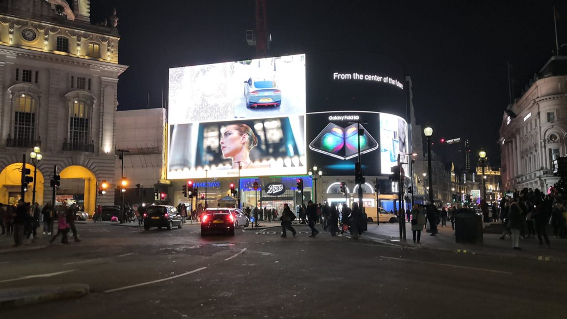 Digital Out-of-Home Advertising in London